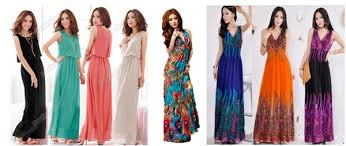 to kill the spring chill maxi dresses can be matched skillfully