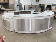 Ada Reception Desk Modern Luxury Sleek U0026 Elegant White Reception Desk With A