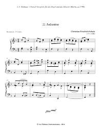 Blind Guardian Tabs Andantino In F Major Schale Christian Friedrich Imslp