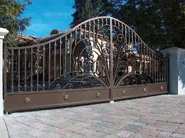 ornamental iron entry gates inspirational landscape of