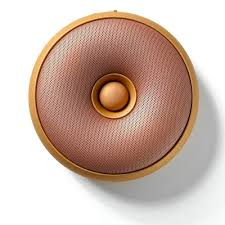 speaker design lexon hoop bluetooth speaker copper the design gift shop