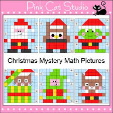 free christmas mystery picture math worksheets u2013 christmas fun zone