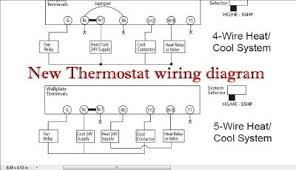 honeywell thermostat 4 wire diagram u0026 thermostat wiring