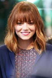 hairstyles with fringe bangs haircuts for medium length hair