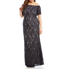 plus size long mother of the bride dresses dillards