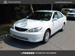 2005 used toyota camry 4dr sedan le automatic at toyota of