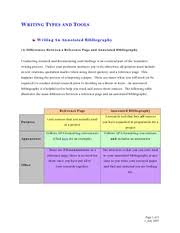 Annotated bibliography sample cms chiropractic