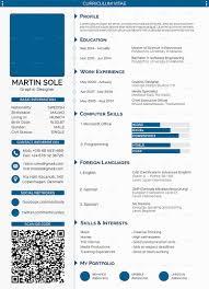 stylish design professional curriculum vitae skillful vita resume