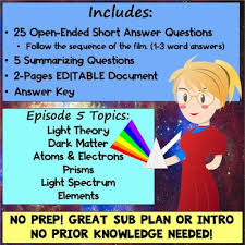 light me up math worksheet answers episode 5 worksheet hiding in the light cosmos a spacetime odyssey