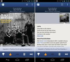free pandora one android pandora update brings redesigned ui for android