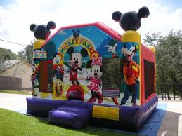mickey mouse clubhouse bounce house mickey mouse moonwalks rentals bounce house san antonio tx