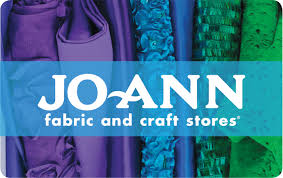Joann Fabrics Website Jo Ann Fabric And Craft Stores Gift Card
