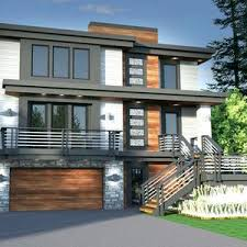 narrow lot houses modern small house plans narrow lot bungalow with front garage