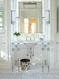 Hanging Bathroom Mirror by How To Hang A Mirror On A Window 12 Bright Beautiful Examples