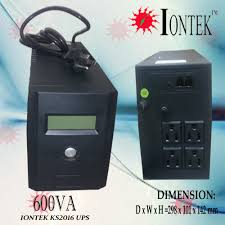 ionist u0026 enertek power solutions co 600va iontek ks micro model