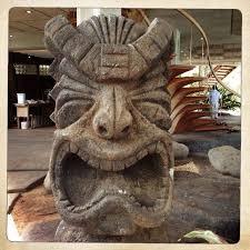 polynesian wood carving tiki in spreckelsville tikis tiki