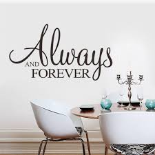 high quality weddings quotes buy cheap weddings quotes lots from wall sticker always forever art quote 8355 wedding decoration home decor bedroom stickers china