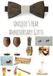 year wedding anniversary gift ideas wedding year wedding anniversary ideas for him th th5 gift
