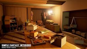 Marketplace Interiors Simple Fantasy Interiors By Synty Studios In Environments Ue4