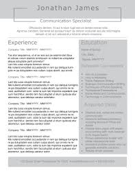 Resume Style New Slick Resume Templates Pack The Grid System