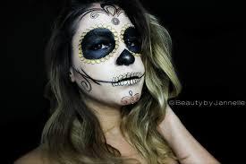 gold halloween makeup gold sugar skull halloween makeup series beauty by jannelle