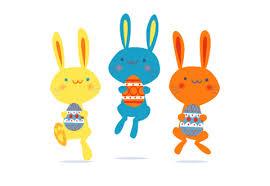bunny easter free easter bunny garland easter diy printable template