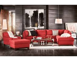 Captivating Red Living Room Furniture For Home  Red Leather - Complete living room sets