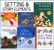 my favorite picture books for setting and story elements story