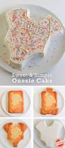 onesie cake tutorial easy baby shower cake cake tutorial baby