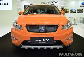 2013 subaru crosstrek interior subaru xv crosstrek 55 unit limited edition rm162k