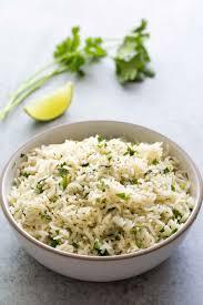 cuisine recipes easy cilantro lime rice recipe with simplyrecipes com