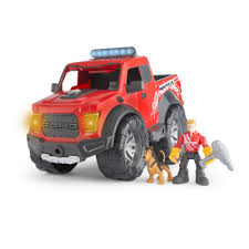 Ford Raptor Fire Truck - amazon com gear force horsepower ford f150 raptor vehicle toys