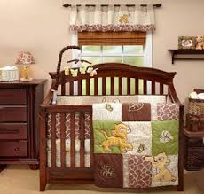 lion king baby crib bedding set for a boy or jungle safari