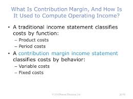What Is A Traditional Resume Traditional Income Statements 48 Managerial Accounting 15th Ed