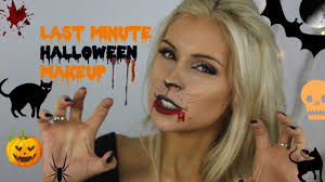 last minute halloween makeup costume fancy dress makeup scary