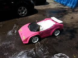 barbie lamborghini new here lambo for my 2yr old son not so barbie anymore
