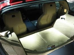 1992 Corvette Interior 1992 Corvette Coupe Dark Red Metallic W Light Beige Interior