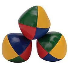 amazon com professional juggling balls large toys u0026 games