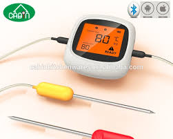 android thermometer digital bluetooth bbq thermometer with iphone android smart phone
