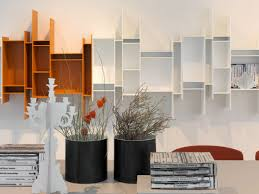 Cool Shelf Ideas Decorating Gallery Wall With White Frames And Floating Shelves For