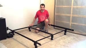 Metal Bed Frame Casters Bed On Casters Creative Platform Bed On Wheels Platform
