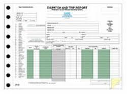 fleet report template dispatch and trip reports trucking fleet operations driverlogbooks