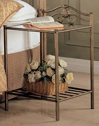 coaster fine furniture 300171q 300172 singleton iron bedroom set