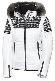 black friday ski gear toni sailer daphne fur womens ski jacket white ski and apres ski