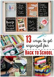 School Desk Organization Ideas Back To School Diy Organization Crafts Unleashed