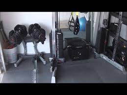 home gym garage gym ideas home garage gym tour youtube