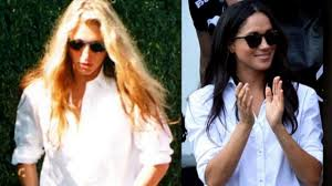 carolyn bessette kennedy is meghan markle channeling the look of carolyn bessette kennedy