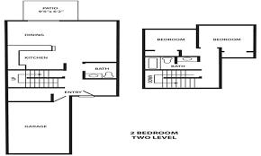 Two Level Floor Plans Ridgeway Estates Townhomes Inh Properties