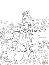 coloring page david coloring page bible pages david coloring