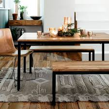 Dining Room Table Bench Box Frame Dining Bench West Elm